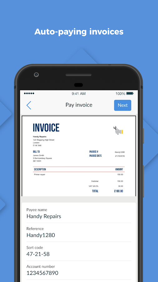 Tide Business Banking- screenshot