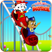 Paw Puppy SkyCoasters Patrol Games for kids