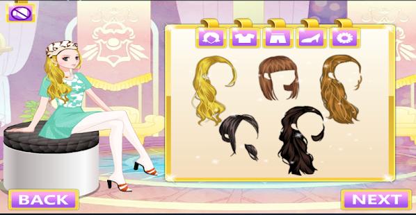 Makeover and fashion dress up- screenshot thumbnail