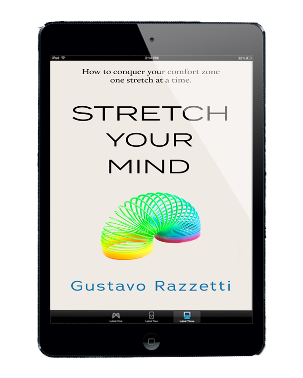 Stretch Your Mind Book cover ipad