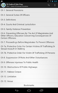 2016 TX Code of Criminal Proc- screenshot thumbnail