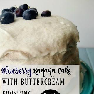Gluten-Free Blueberry Banana Cake