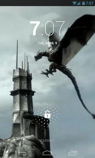 Amazing Dragon Live Wallpaper 2.0 screenshots 1