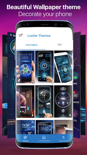Face detection style lockscreen for prank 9.2.0.1832_master screenshots 4