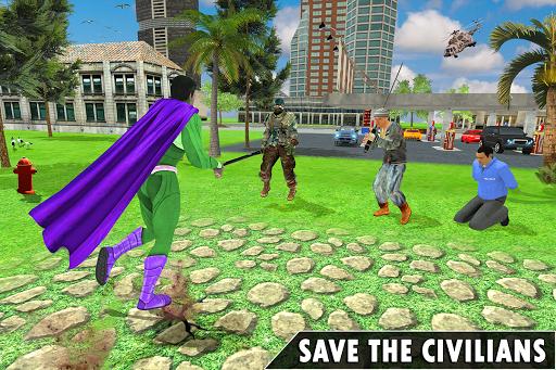 Black Rope Hero Vegas Mafia Superhero Crime Battle screenshot 1