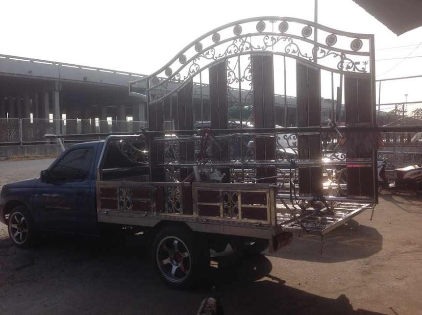 รถกระบะ คอกสแตนเลส
