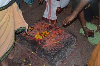Photo: Holy Lotus Feet of Bhagavad Ramanuja on Mo:ka:lla Parvatham - Tirumala Hills - Bheeshma Ekadasi, Sahasra Tulasi Srinivasam (Tirupati Tirumala, AP, India - 2012 Feb 3)