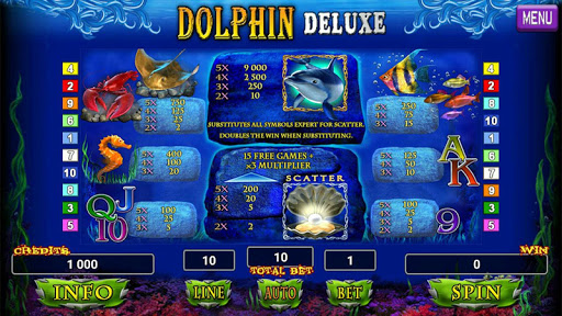 Dolphin Deluxe Slot 1.2 screenshots 10