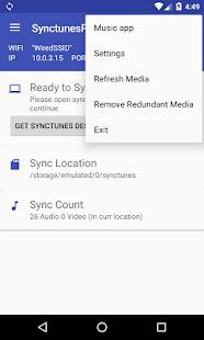 Sync iTunes to android - Pro- screenshot thumbnail