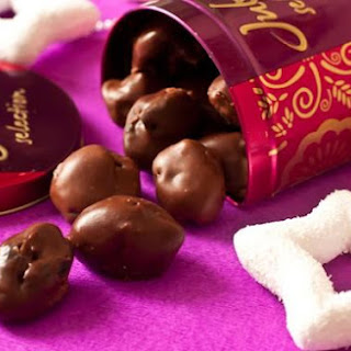 Prunes In Cognac And Chocolate