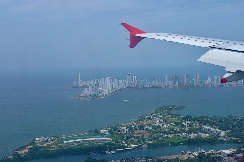 Cartagena, lądowanie