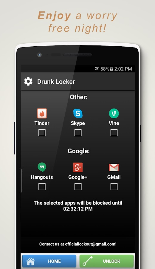 Drunk Blocker- screenshot