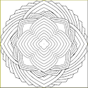 Adult Coloring Book - Mandalas