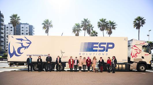 El camión solidario ha sido presentado este jueves.