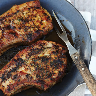 Chermoula-Marinated Pork Chops