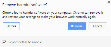 Use the Chrome Cleanup tool to remove harmful software