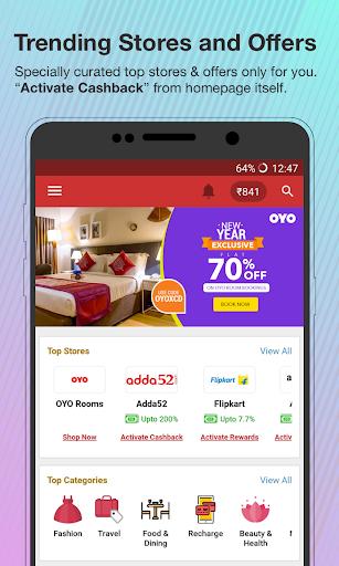 Online Coupons, Offers, Deals & Cashback screenshot