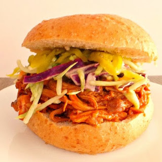 Slow Cooker Pulled Pork on a Bun Recipe