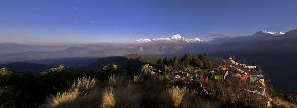 Photo: Panorama am Poon Hill