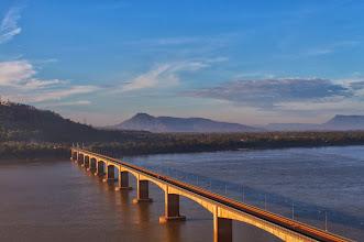 Photo: Laos Reisen, Lao Nippon Friendship Bridge