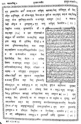 कुरान हिंदी अरबी मतन Quran Hindi Transliteration screenshot 2