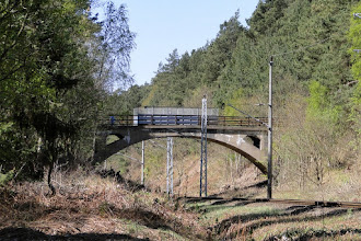 Photo: Mukran - Eisenbahnbrücke