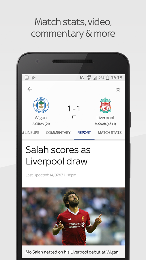 Sky Sports Live Football Score Centre- screenshot