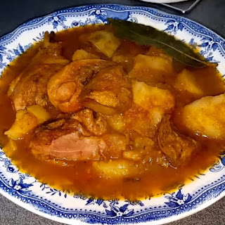 (Dominican, Puerto Rican Stewed Chicken) Recipe