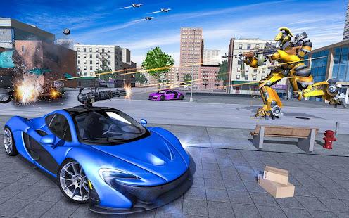 Download monster robot car transform: robot shooting war For PC Windows and Mac apk screenshot 10