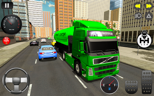 Real Manual Truck 3d simulator 2020 apktram screenshots 1
