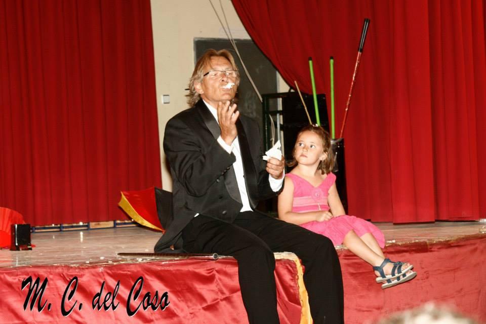 Luis Lafont magia en Cebreros