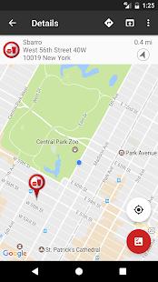 Fast Food Locator / Finder Screenshot 2