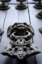 Photo: Cathedral of Lima door knocker