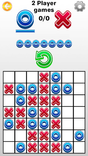 Tic Tac Toe 2 player games, tip toe 3d tic tac toe android2mod screenshots 2