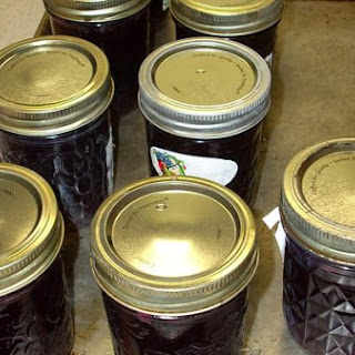 Homemade Muscadine Jelly