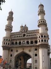 Photo: 7B130021 Hyderabad - Charminar (1591) 49 m