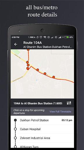 Qatar Transit - Bus, Metro, Times, Maps, Planner 4.8 screenshots 4