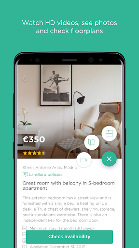 Spotahome: Apartments & rooms for rent for PC