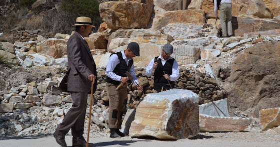 Más de mil firmas para que la cultura del Mármol sea Patrimonio de la Humanidad