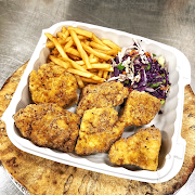 Fried Chickun Combo (6 Pieces)