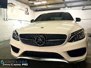 Photo: Mercedes C450 AMG w/ Capitol Shine's Ceramic Pro GOLD package applied