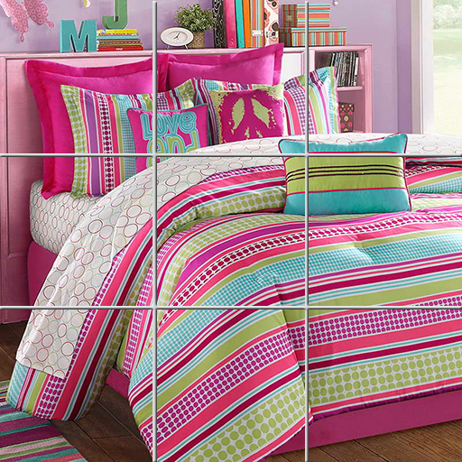Girls Bedding Puzzle