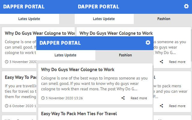 Dapper Portal - News Latest Update