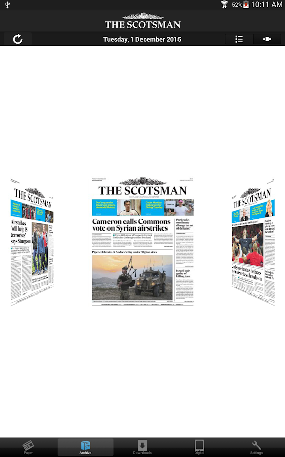 The Scotsman Newspaper- screenshot