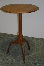 Photo: Bob's offcuts table NG Rosewood left after the Maloof chairs