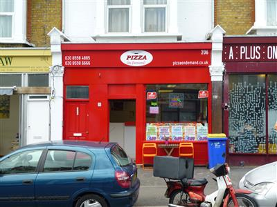 Pizza On Demand On Francis Road Pizza Takeaway In Leyton