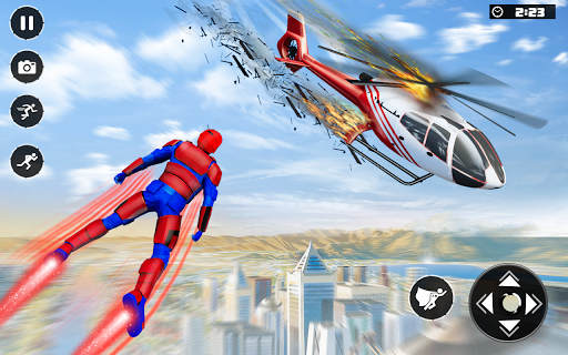 Real Speed Robot Hero Rescue Games apkpoly screenshots 2