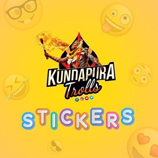 Kundapura Trolls Kundagannada Sticker