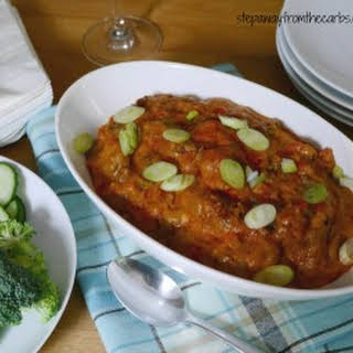 Low Carb Beef Enchilada Dip.