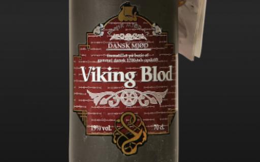 Dansk Mjød Viking Blod Hibiscus